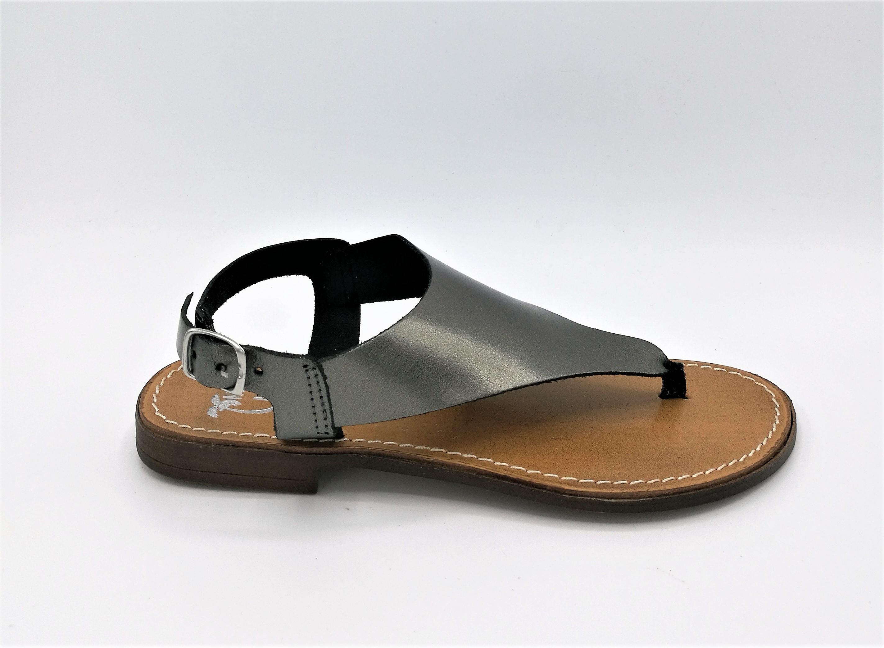 Mare e laminato Mare Simona 10 sandalo infradito laminato e ematite dc6014