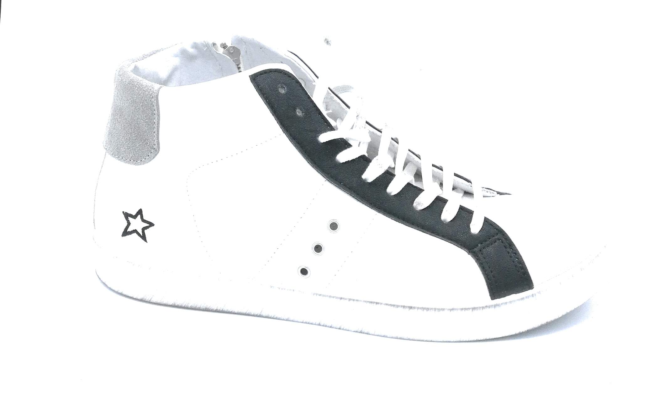 big sale 2c00b c2951 In my Shoes in my 28 sneakers alte in pelle bianco rosso e ...