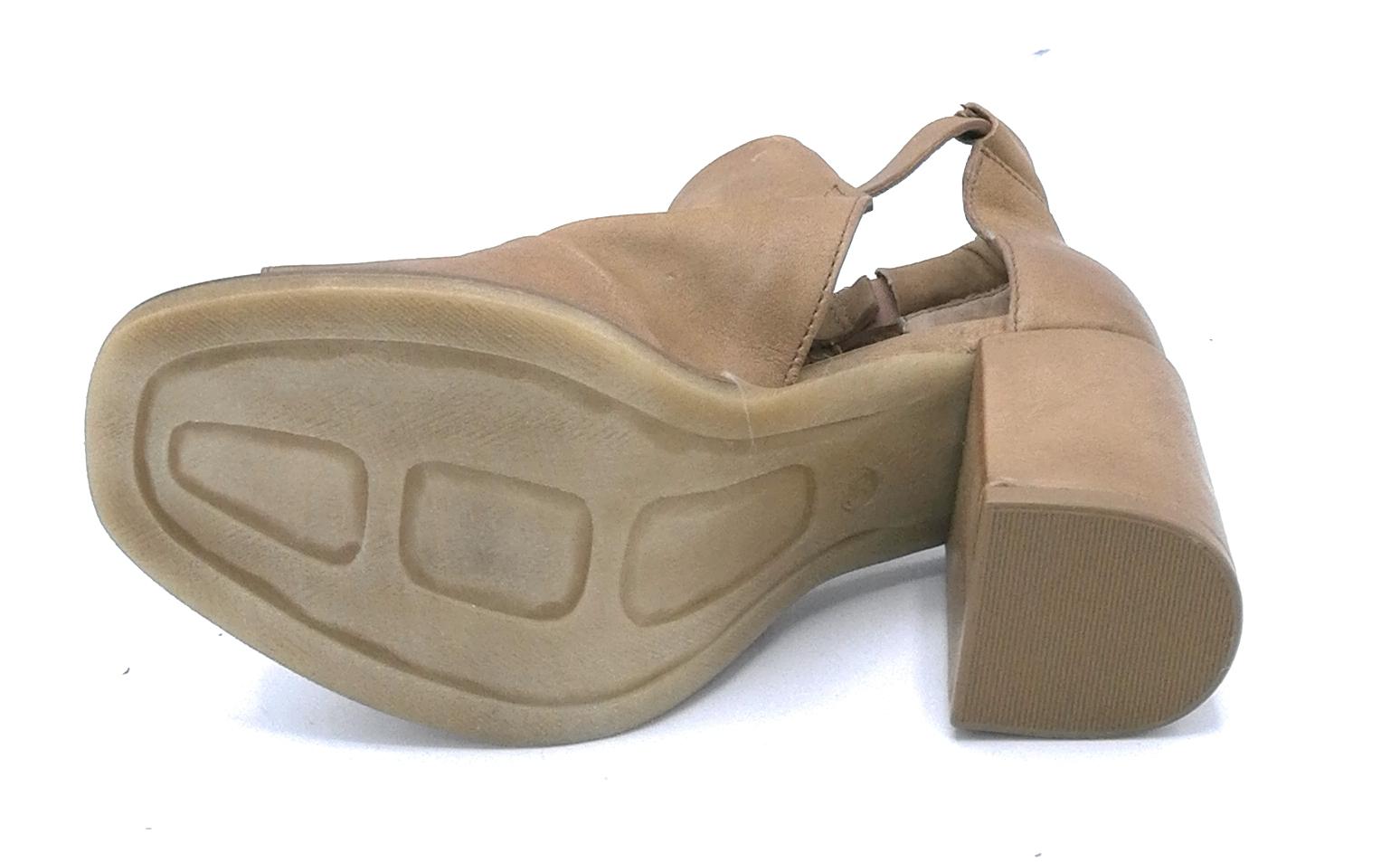 Cm Tacco 862002 Pelle Cinturino Nero 7 Sandalo Mjus Sabbia Largo yvm0wONn8