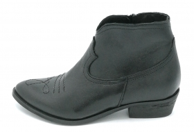Mary 4313 stivaletto pelle ner